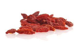 Dried goji berries Stock Photography