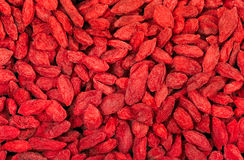 Dried goji berries Royalty Free Stock Photography