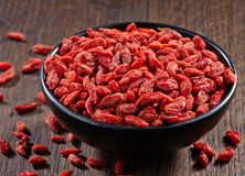 Dried goji berries Stock Image