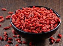 Dried goji berries Stock Image
