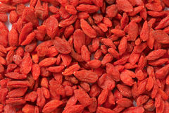 Dried goji berries Stock Photo