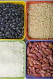 Dried grains and beans. Stock Photography