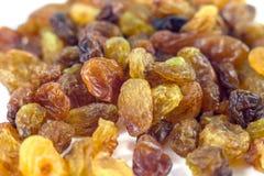 Dried grape raisins background, close up Royalty Free Stock Photo