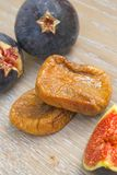 Dried green fig Royalty Free Stock Photo