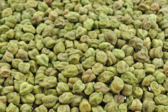 Dried green grams stock image