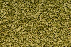 Dried green pea Royalty Free Stock Photo