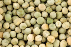 Dried green peas background Royalty Free Stock Photos
