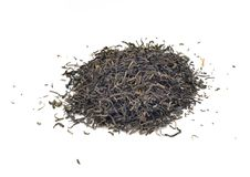 Dried green tea Stock Photography