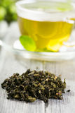 Dried green tea Royalty Free Stock Image