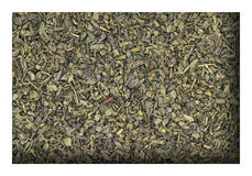 Dried green tea Royalty Free Stock Images