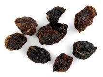 Dried habanero chilis. Dried habanero chili peppers stock photography
