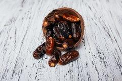 Dried halawi dates Royalty Free Stock Photo