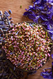 Dried heather hips Royalty Free Stock Photos