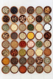 Dried Herb and Spice Collection Stock Images