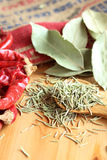 Dried herb and spice Stock Photography
