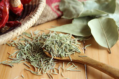 Dried herb and spice Royalty Free Stock Photography