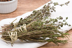 Dried herbs Stock Photos