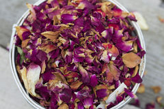 Dried Herbs. And Flowers Texture Stock Photos