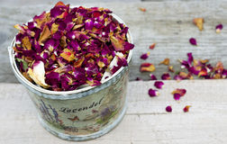 Dried Herbs. And Flowers Texture Royalty Free Stock Photos