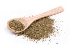 Dried herbs spices Stock Images