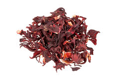 Dried Hibiscus flower Stock Photography