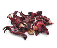 Dried hibiscus flowers Stock Images