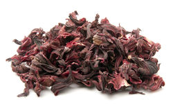 Dried Hibiscus Petals Stock Image