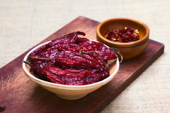 Dried Hot Pepper Royalty Free Stock Image