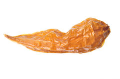 Dried Hot Peppers Stock Image