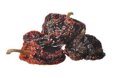 Dried Hot Peppers Royalty Free Stock Images