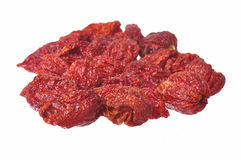 Dried Hot Peppers Stock Images
