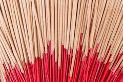 Dried incense stick groups patterns texture for background stock images