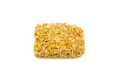 Dried Instant noodles Stock Photography