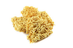 Dried instant noodles Royalty Free Stock Image