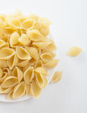 Dried italian pasta  Stock Images