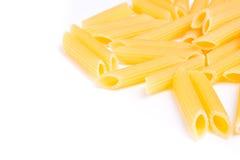 Dried italian pasta isolated Stock Photo