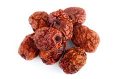 Dried jujube fruits/Chinese dates Stock Photo