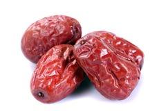 Dried jujube fruits Stock Image