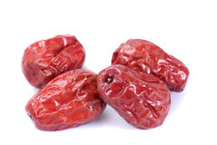 Dried jujube fruits Stock Images