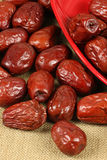 Dried Jujube(dates ) Royalty Free Stock Images