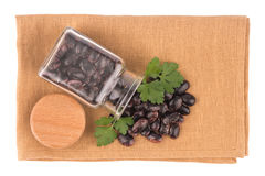 Dried kidney legumes haricot beans Stock Photo