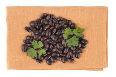 Dried kidney legumes haricot beans Royalty Free Stock Image