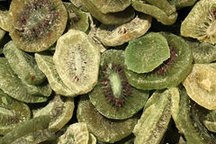 Dried kiwi background Stock Image