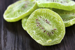 Dried kiwi fruit Stock Photo