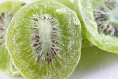 Dried kiwi fruit Royalty Free Stock Images