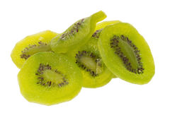 Dried kiwi fruit, dried preserved candied kiwifruit slices sugar Stock Images