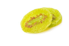 Dried kiwi fruit Stock Photography