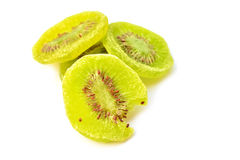 Dried kiwi fruit Royalty Free Stock Photos