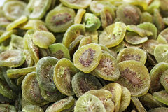 Dried kiwi fruits Royalty Free Stock Photography