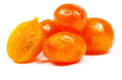 Dried kumquat Royalty Free Stock Photography